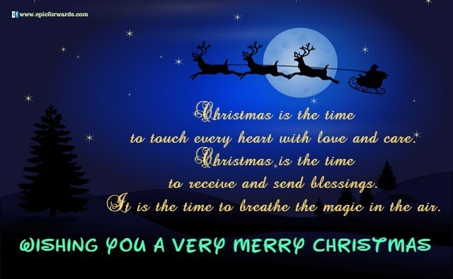 Merry Christmas Greetings Wishes Messages